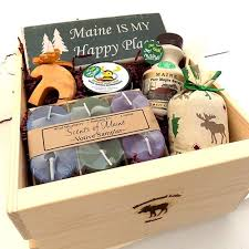 Maine Gift Baskets My Happy Place Crate Moosehead Marketplace