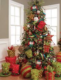 snowman themed christmas tree home