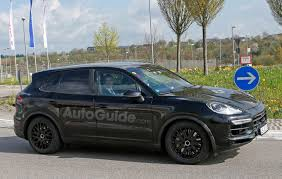 porsche cayenne blacked out 2018 porsche cayenne spied inside and out with cleaner look