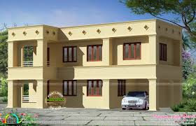 Kerala Old Home Design by Arabic Style Flat Roof Home Kerala Home Design And Floor Arabian