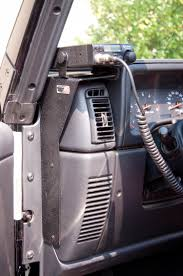 jeep liberty accessories cb radio dash mount 97 06 jeep wrangler tj lj jeep wrangler 2