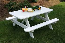 childrens wooden picnic table benches picnic table childrens wooden plans little tikes gcss info