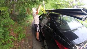 porta auto how to get the porta bote on the roof rack