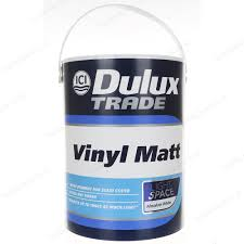dulux trade vinyl matt emulsion interior paint light u0026 space 5l