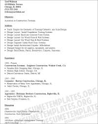 Construction Superintendent Resume Examples And Samples by Construction Resume Examples