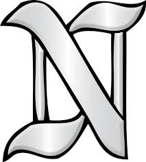 letter n glass alphabet bevel clusters the avenue stained glass