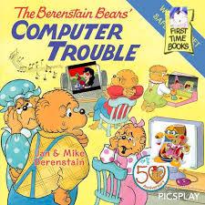 berenstien bears the berenstain bears computer trouble by spyrodoomfire64 on deviantart