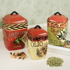 tuscan kitchen canisters sets olio olives kitchen canister set canister sets olive kitchen and