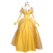 Belle Halloween Costume Women Aliexpress Buy Princess Belle Costume Cosplay Beauty