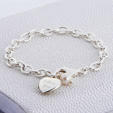 sterling silver love heart bracelet images Personalised sterling silver locket bracelet hurleyburley jpg