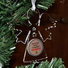 personalized memorial ornaments chrismas 2017