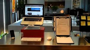 one example of an organized home office workstation youtube