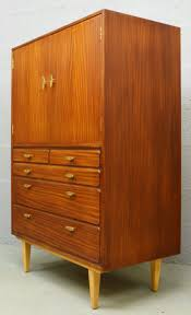 meuble design vintage meuble de rangement tall boy vintage en teck 1960 design market