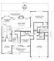 Great House Floor Plans 4 Bedrm 2755 Sq Ft Craftsman House Plan 153 1934