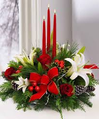 a christmas holiday centerpiece bring the festivities to the