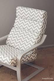 Recover Ottoman Nursery Ikea Poang Chair Recover How Joyful Diy Poang Chair