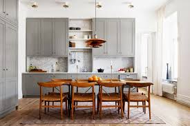 Kitchen Dining Design by One Wall Kitchen Designs With An Island Voluptuo Us