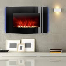 elektrischer kamin wohnzimmer kamin ofen heizung heiz lüfter led