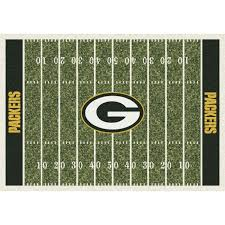 Rugs Bay Area Green Bay Packers Home Field Rug Rugs Home U0026 Office