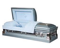 casket store blue mist stainless steel central florida casket store