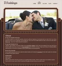 wedding websites free 26 free wedding website templates themes free premium templates