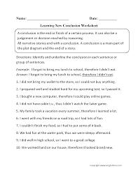 englishlinx com writing conclusions worksheets