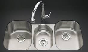 Kitchen Sink Kohler Kohler K 3166 L Na Undertone Undercounter Kitchen Sink With