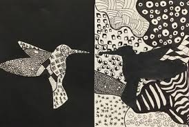 zentangle design positive and negative space zentangle compositions