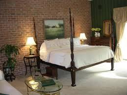 brick wallpaper bedroom design inter lock bed frame dorcey 6