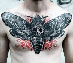 50 skull chest designs for haunting ink ideas