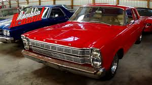 1966 ford galaxie custom 289 v8 four speed youtube