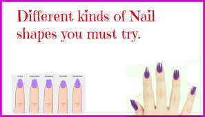 diy beauty tips different nail shapes you must try youtube