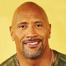 dwayne johnson the rock bald why hair afro tweet joke
