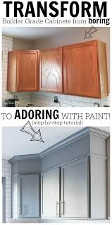 contractor grade kitchen cabinets how to easily paint kitchen cabinets you ll love for years