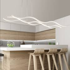 modern light fixtures for kitchen hydra three wave pendant light modern place