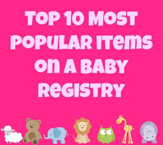popular baby registry 10 popular baby registry items and their cutest disney versions