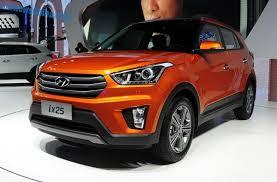 Hyundai Ix25 Interior Hyundai Ix25 Suv Debuts In China On The Chengdu Auto Show