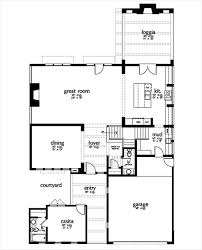 House Plans With Courtyard by Contemporary Style House Plan 5 Beds 4 50 Baths 4032 Sq Ft Plan