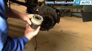 how to install replace manual locking 4x4 hub ford f250 super duty