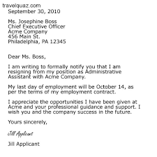 resignation letter example 2015 resignation letter example 2015
