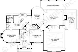 chestnut street traditional home plan luxury house plan