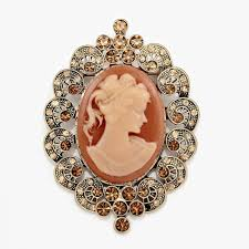 victorian cameo necklace images Lady cameo brooch rhinestones swirl victorian brooch pin jpg
