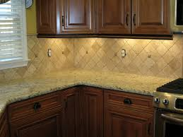 backsplash tiles with giallo ornamental diagonal straight