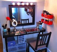 makeup vanities for bedroom with lights ideal vanities for
