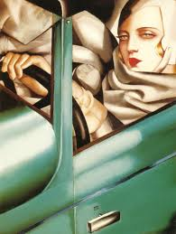 green bugatti my portrait self portrait in the green bugatti 1929 tamara de