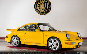 porsche 964 find of the day porsche 964 carrera 4 lightweight with 550 km u2013 p9xx