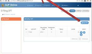 petunjuk membuat npwp online cara efiling pajak online 2018 lengkap gambar per langkah