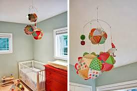 mobile chambre enfant déco fait fabriquer mobile pour bébé