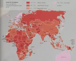 Corruption Map Gis Research And Map Collection July 2016