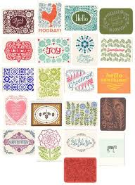 variety pack of nine letterpress greeting cards gift set blank